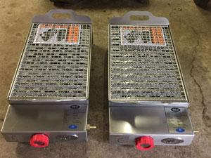 Kwikstix Portable Gas Braais